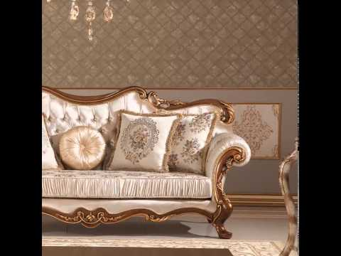 Elegant Turkish Sofa Pieces by ALGEDRA