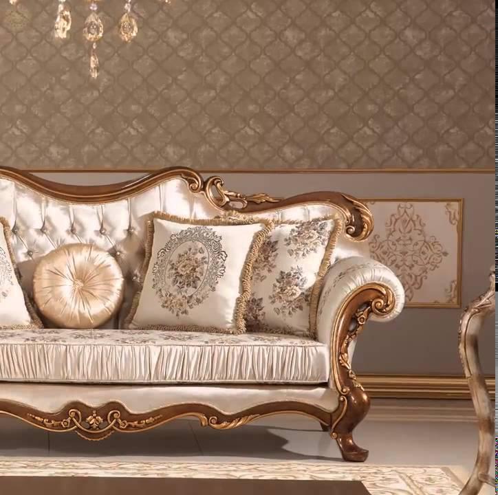 Merveilleux Elegant Turkish Sofa Pieces By ALGEDRA   YouTube
