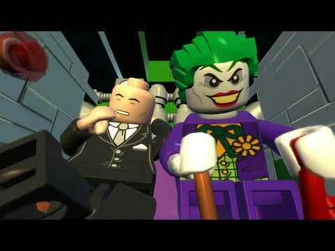 LEGO Batman 2: DC Super Heroes Walkthrough Part 11 - Down to Earth