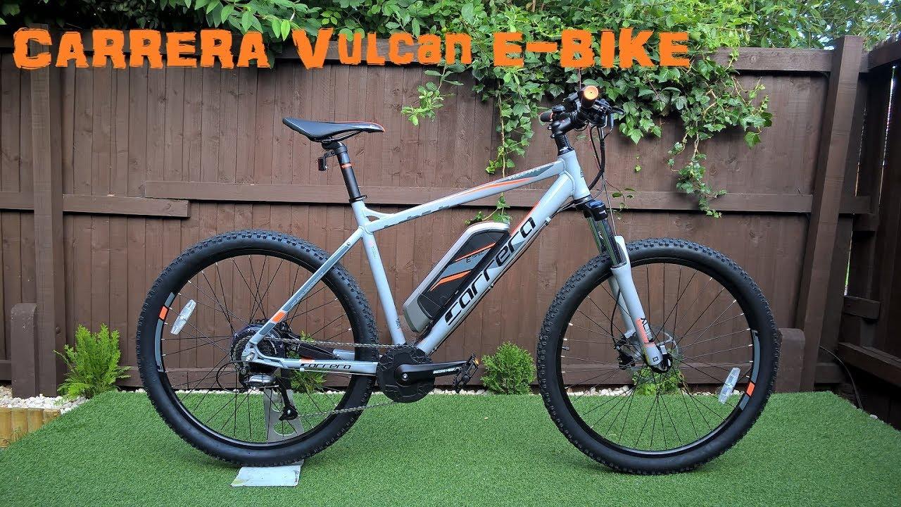 Carrera Vulcan Electric 2017 Mountain Bike Youtube