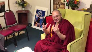 Khenpo Thubten Gongphel  - Three Visions to a Happy Life   Day 1 PM Talk 2