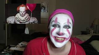 TURNING MYSELF INTO PENNYWISE THE DANCING CLOWN