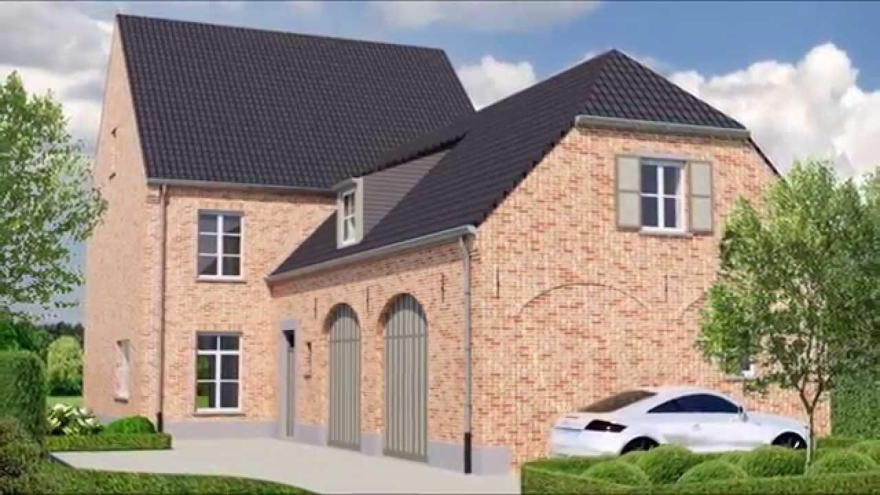 Ontwerp woning in landelijke stijl - Stijl eengezinswoning ...