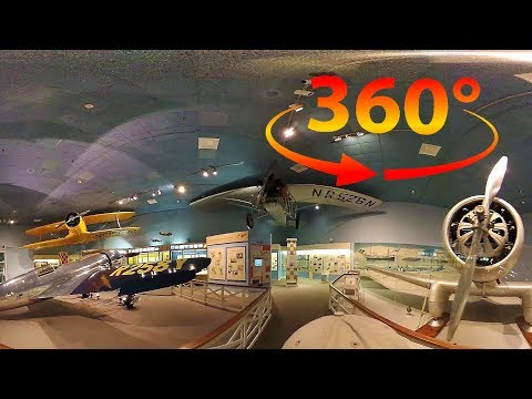 360 / VR 4K The National Air & Space Museum Tour w/ Spatial Audio - Washington DC - Part 4 of 4
