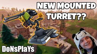 🔴 FORTNITE NEW MOUNTED TURRET || 400 LIKE GOAL || 5K VBUCK GIVEAWAY 🔴