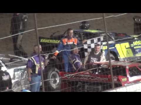 39th Annual Yankee Classic Farley Speedway Late Model feature Driver Introduction 9/3/16