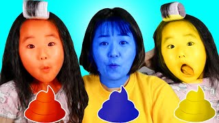 Learn colors with color Chocolate 수지의 알록달록 컬러 색깔놀이 인기동요 Here i am song 리틀조이 Littlejoy
