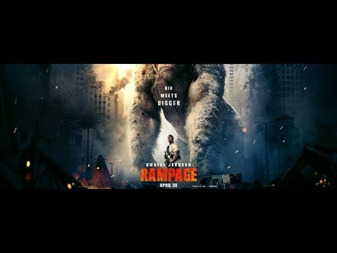 RAMPAGE Official Trailer #2 2018 Dwayne Johnson Monster Movie HD