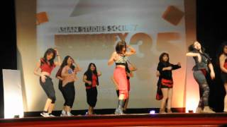 3rd and 4th year Asian Studies major dancing Turn Up The Music, Whe...