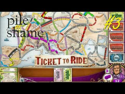 Pile of Shame #3: Ticket to Ride