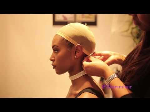 How to apply a SHARAM HAIR lace front wig