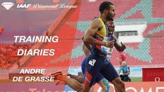 Training Diaries: Andre de Grasse - IAAF Diamond League