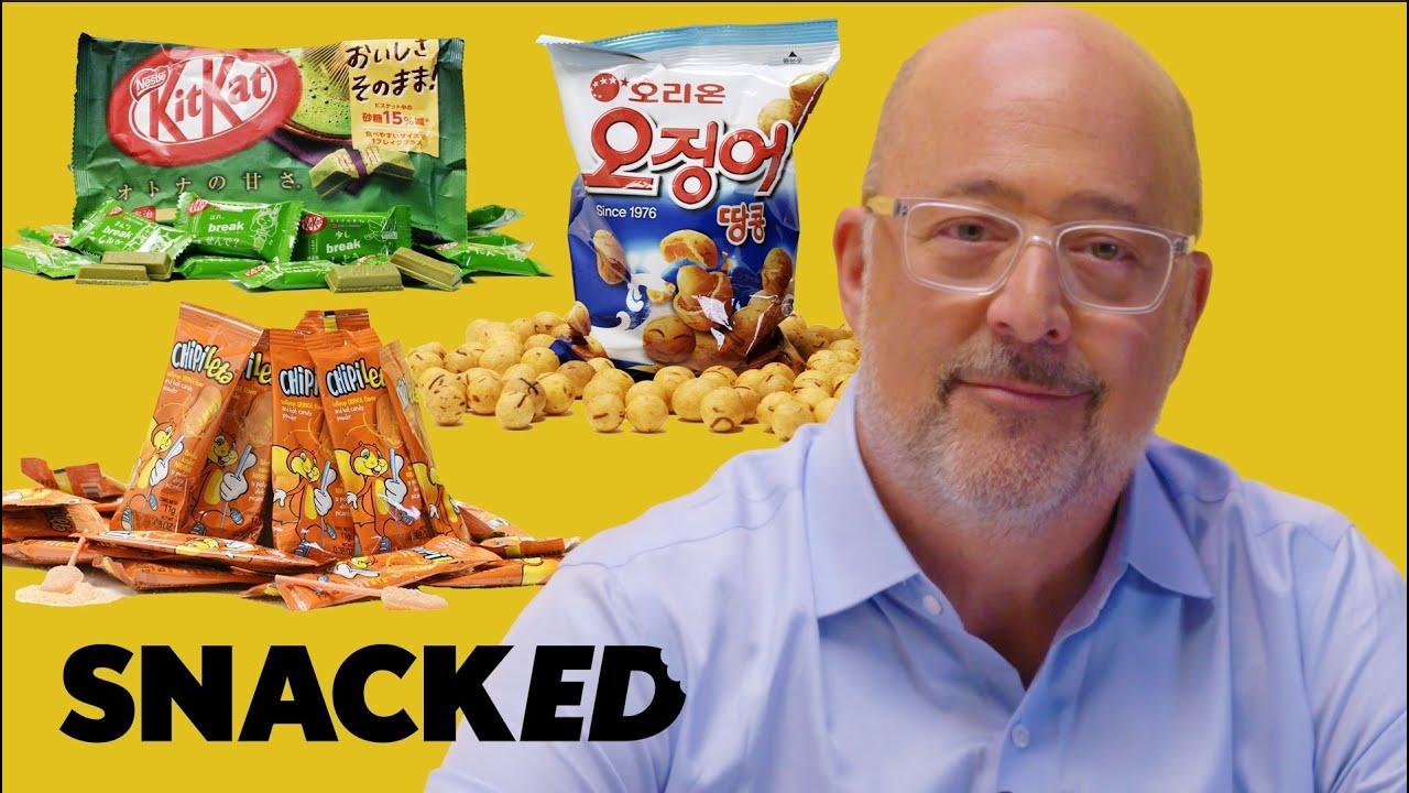 Andrew Zimmern Breaks Down Must-Try International Snacks | Snacked