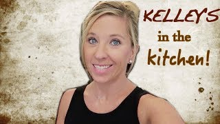 KELLEY'S IN THE KITCHEN! Creamy Spinach Tortellini Soup