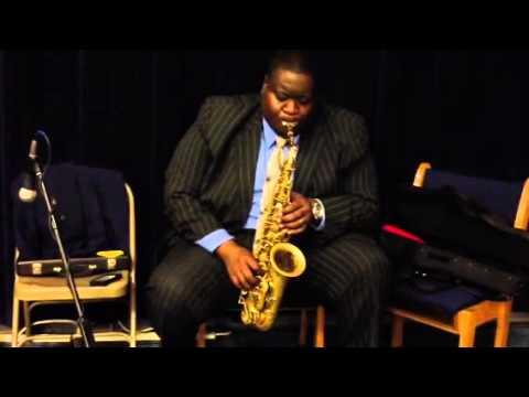 Brian Miller on sax
