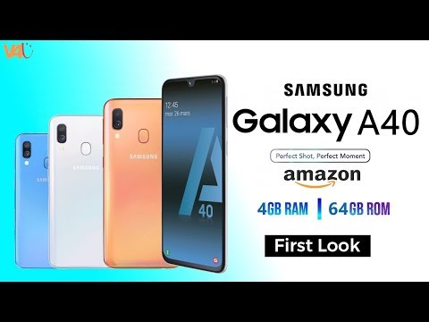 Samsung Galaxy A40 Trailer, Price, Release Date, Official Video, Specs, Features, Launch, First Look