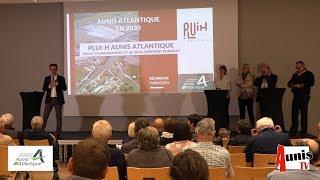 Andilly Les marais. Réunion publique PLUI-H. L'Aunis Atlantique en 2030