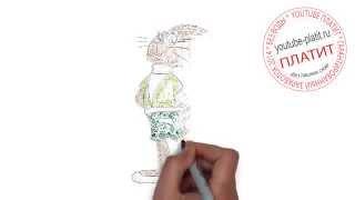 Смотреть видео Ну погоди  Как нарисовать мультфильм Ну погоди быстро и просто(Ну погоди. Как правильно нарисовать волка или зайца из мультфильма Ну погоди поэтапно. На самом деле легко..., 2014-09-11T17:35:26.000Z)