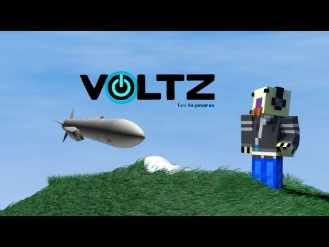 Minecraft Voltz Tutorial : Power Generators and Missile launchers