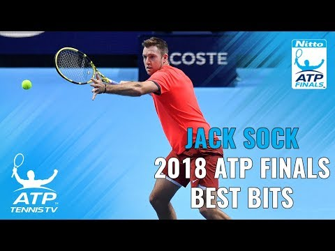 Jack Sock: 2018 Nitto ATP Finals Highlights