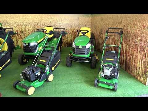 The JOHN DEERE Lawnmowers