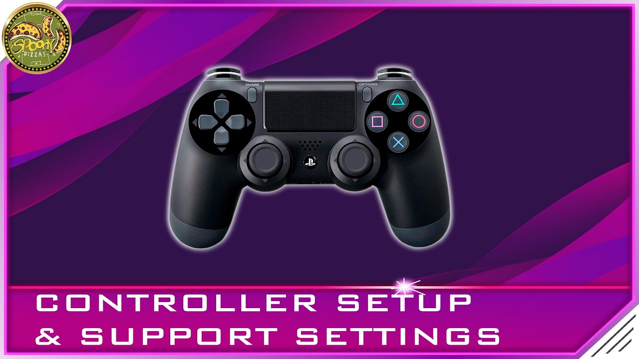 Pes 2020 Spoony Pizzas Gamepad And Support Settings Youtube