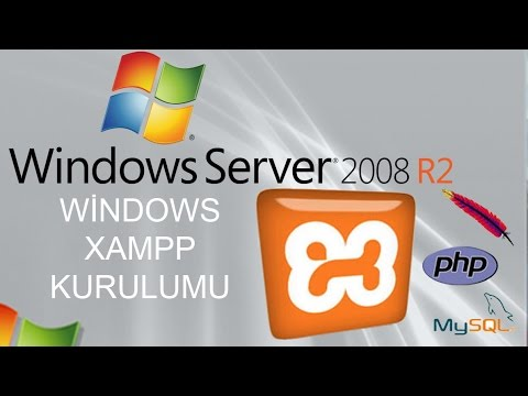 Windows Server XAMPP Kurulum Eğitimi
