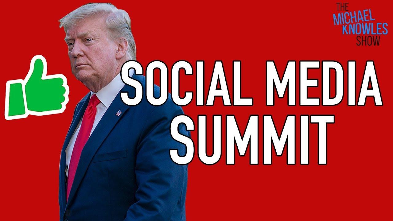 Trump's Social Media Summit Message