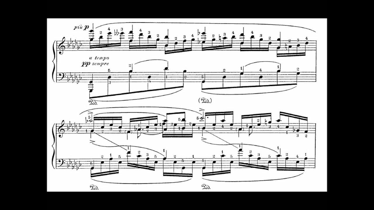 Saint-Saëns-Godowsky: Le Cygne [The Swan] (for Piano only)