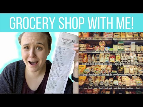 SHOP WITH ME! | Our weekly grocery shopping trip in Sydney, Australia