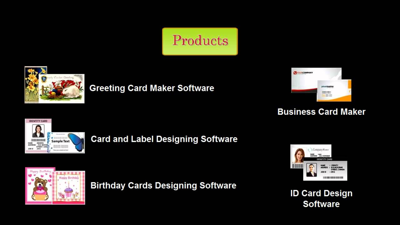 Birthday Cards Designing Software Card Tool Maker Generator Freeware