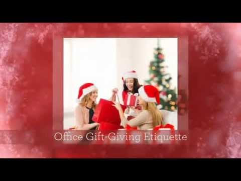 Office Gift Giving Etiquette - YouTube