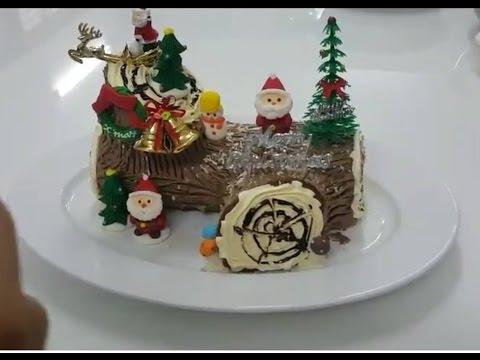 CHRISTMAS CAKE (NOEL) - TRANG TRÍ BÁNH KHÚC CÂY GIÁNG SINH