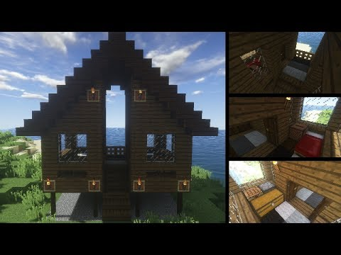 Comment Faire Un Chalet Minecraft