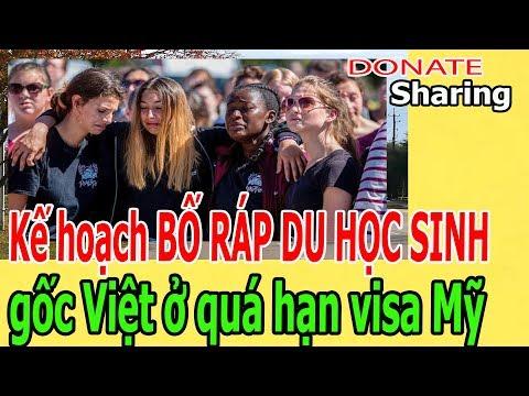 Kế hoạch B,Ố R,Á,P DU HỌC SINH g,ố,c Việt ở q,u,á h,ạ,n v,i,s,a Mỹ
