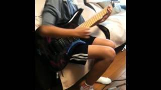 中学一年 12歳女がツェッペリンのロックンロールをギターで弾きました.