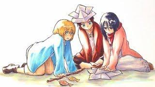 Jar Of Hearts ~ Eren/Mikasa/Armin/Levi/Farlan/Isabel  ~ Attack On Titan AMV