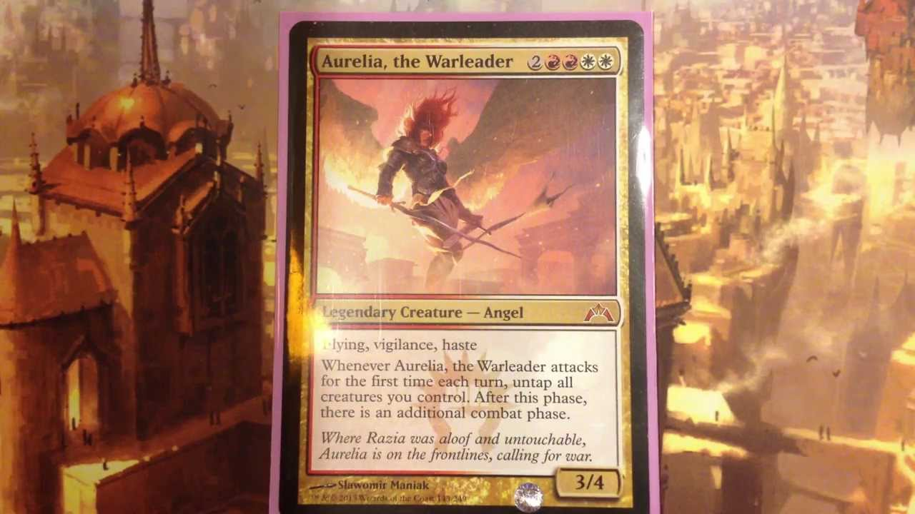 Aurelia, the Warleader - Boros, Season's Beatings, EDH ...