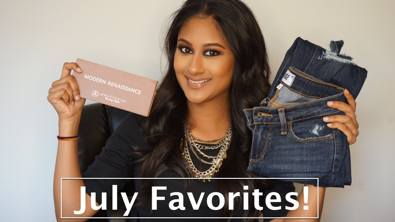 July Favorite Beauty/Fashion/Lifestyle Products!   Makeup By Megha