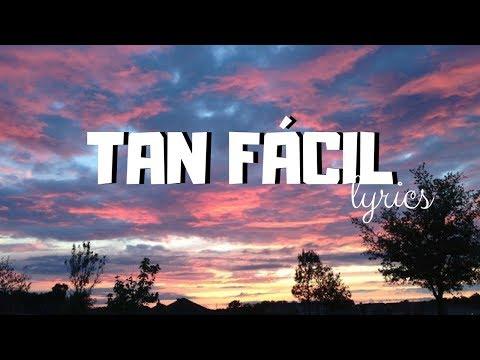 CNCO - Tan Fácil || Lyrics.
