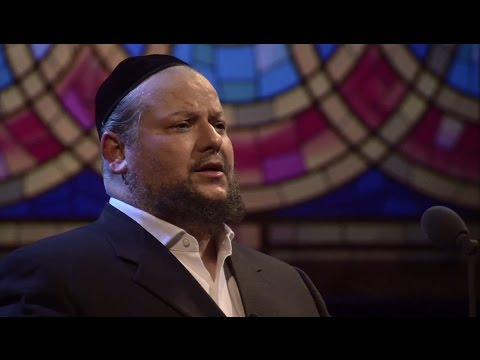Cantor Yitzchak Meir Helfgot with Itzhak Perlman  A Yidishe Mame