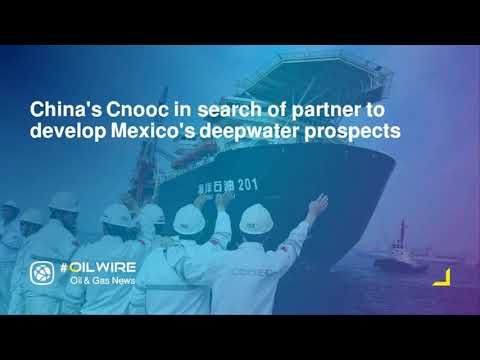 China's Cnooc in search of partner to develop Mexico's deepwater prospects