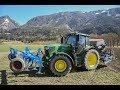 John Deere 6155r|Lemken|Sommergetreide Säen Im Drautal|Gerhard Fleischhacker|Austria Farming