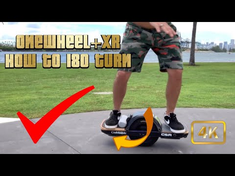 ONEWHEEL+XR HOW TO DO A 180 TURN CLEAN AND SMOOTH EP.10