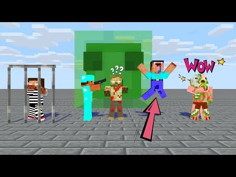 Майнкрафт мультики школа монстров все серии