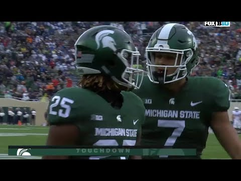 Penn State vs Michigan State Football 2017 Highlights