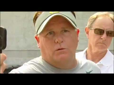 Chip Kelly Post-Practice (8/16/12)