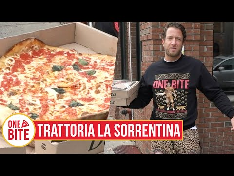 Barstool Pizza Review - Trattoria La Sorrentina (North Bergen, NJ)