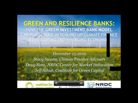 Green & Resilience Banks: The Green Investment Bank Model in Emerging Markets