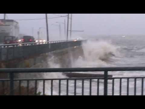 Hurricane Sandy New Bedford Ma. 2012